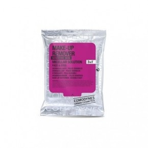 Comodynes Make-Up Remover Sensitive Skin Salvetes dekoratīvās kosmētikas noņemšanai ar micelāro ūdeni 10vnt