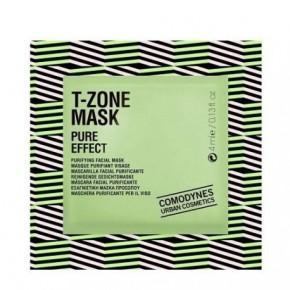 Comodynes T-Zone Mask Pure Effect Attīroša sejas maska jaukta tipa un taukainai ādai 5vnt