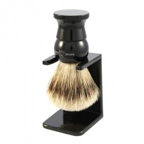 Edwin Jagger Badger Shaving Brush With Stand Skūšanās ota ar statīvu