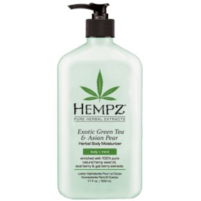 Hempz Exotic Green Tea & Asian Pear Herbal Mitrinošs ķermeņa krēms 500ml