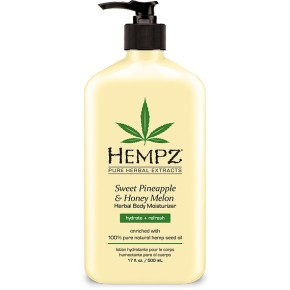 Hempz Sweet Pineapple& Honey Melon Herbal Mitrinošs ķermeņa krēms 500ml