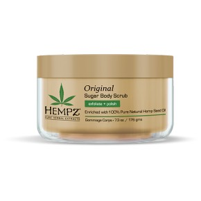Hempz Original Herbal Sugar Body Scrub Ķermeņa skrubis 176ml
