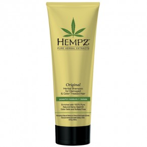 Hempz Original Shampoo For Damaged & Color Treated Hair Barojošs šampūns bojātiem un krāsotiem matiem 265ml