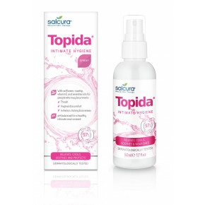 Salcura Topida Intimate Hygiene Spray Intīmās higiēnas sprejs 50ml