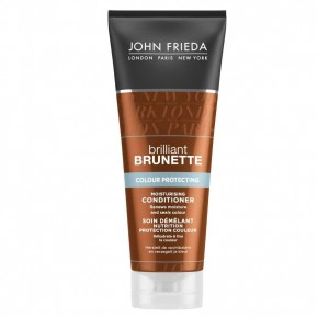 JOHN FRIEDA Brilliant Brunette Colour Protecting Matu kondicionieris krāsotiem matiem 250ml
