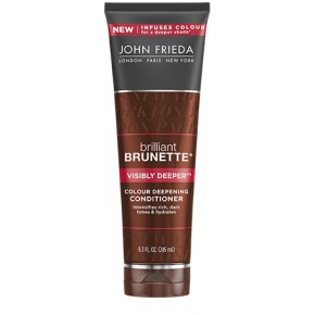 JOHN FRIEDA Brilliant Brunette Visibly Deeper Conditioner Kondicionieris brūniem matiem 250ml
