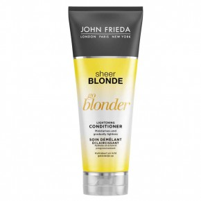 JOHN FRIEDA Sheer Blonde Go Blonder Conditioner Balinošs kondicionieris blondiem matiem 250ml