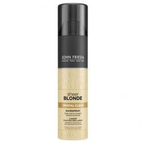 JOHN FRIEDA Sheer Blonde Crystal Clear Hairspray Matu laka blondiem matiem 250ml