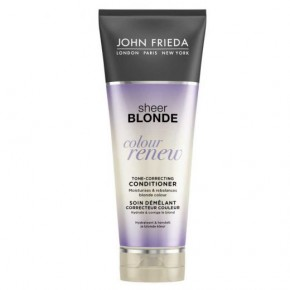 JOHN FRIEDA Sheer Blonde Color Renew Conditioner Matu toni nostiprinošs kondicionieris 250ml