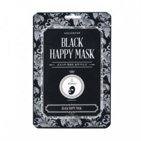 Kocostar  Black Happy Mask Attīroša sejas maska 25ml