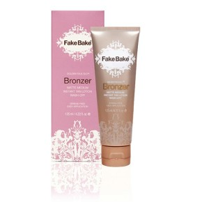 Fake Bake Bronzer Wash-off Instant Tan Lotion Tūlītējs paštonējošs losjons 125ml