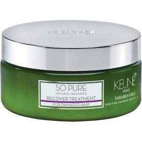 Keune So Pure Recover Treatment Atjaunojoša matu maska 200ml