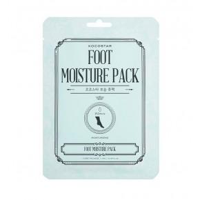 Kocostar Foot Moisture Pack Mitrinoša piparmētru kāju auduma maska 14ml
