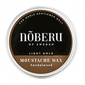 Noberu Sandalwood Vasks ūsām 30ml