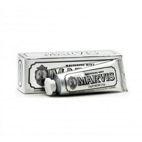MARVIS Withening mint Balinoša zobu pasta ar piparmētras garšu 25ml