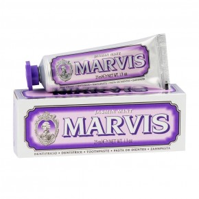 MARVIS Jasmin Mint Zobu pasta ar piparmētras un jasmīna garšu 25ml