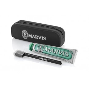 MARVIS Kit Beauty Bag Ceļojuma komplekts: zobu pasta + zobu birste