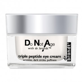 Dr. Brandt Do Not Age Triple Peptide Eye Cream Atjaunojošs krēms ap acīm 15g