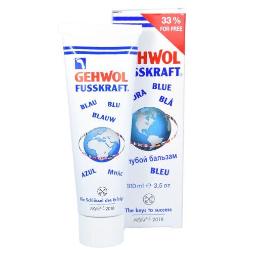 Gehwol Fusskraft Blue Krēms sausai un stipri sausai pēdu ādai 75ml