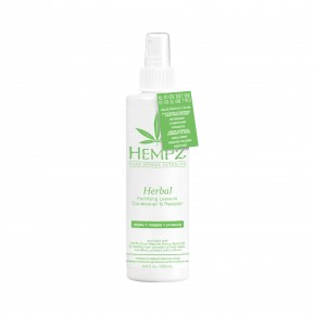 Hempz Herbal Fortyfyung Leave-in Conditioner & Restyler Neizskalojams kondicionieris 250ml