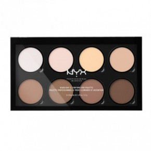 NYX Highlight & Contour Pro Palette Konturēšanas palete 21.6g