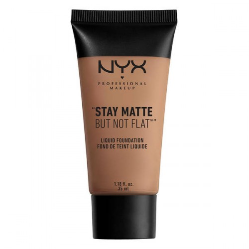 NYX Professional Makeup Stay Matte But Not Flat Liquid Foundation Tonālais krēms 35ml