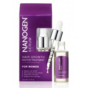 Nanogen Hair Growth Factor Treatment Serums pret matu izkrišanu, sievietēm 30ml