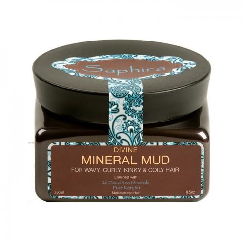 Saphira Divine Mineral Mud Intensīvi mitrinoša dubļu maska ar minerāliem 250ml