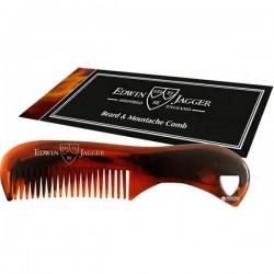 Edwin Jagger Beard & Moustache Comb Bārdas un ūsu ķemme 73mm