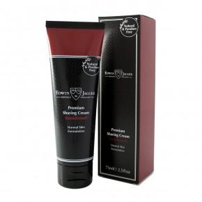 Edwin Jagger Premium Shaving Cream Sandalkoka aromāta skūšanās krēms 75ml