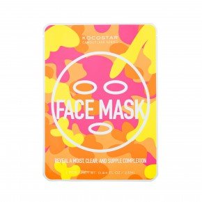 Kocostar Camouflage Face Mask Mitrinoša sejas maska 1vnt