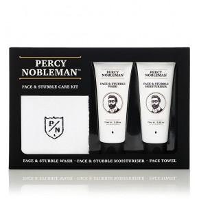 Percy Nobleman Face & Stubble Care Kit Sejas un bārdas kopšanas komplekts