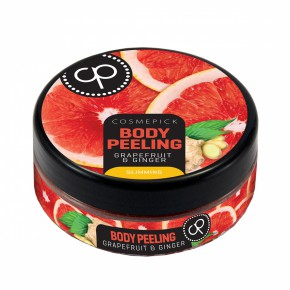 Cosmepick Body Peeling Grapefruit & Ginger Ķermeņa skrubis ar greipfrūtu un ingveru 200ml