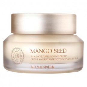 The Face Shop Mango Seed Silk Moisturizing Eye Cream Krēms ādai ap acīm ar Mango sēklu ekstraktu 30ml