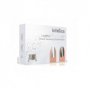 Kinetics Chrome Powder Kit Nagu gēla - laka komplekts
