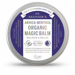 Dr. Bronner's Organic Magic Balm Arnica- Menthol 60gr