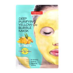 Purederm Deep Purifying O2 Bubble Mask Dziļi attīroša dzirkstoša sejas maska 25g