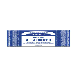Dr. Bronner's PEPPERMINT All-One Toothpaste Zobu pasta 140g