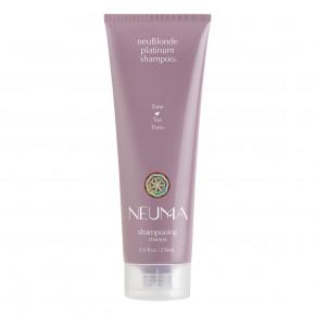 NEUMA neuBlonde Platinum Shampoo Šampūns gaišiem matiem 250ml