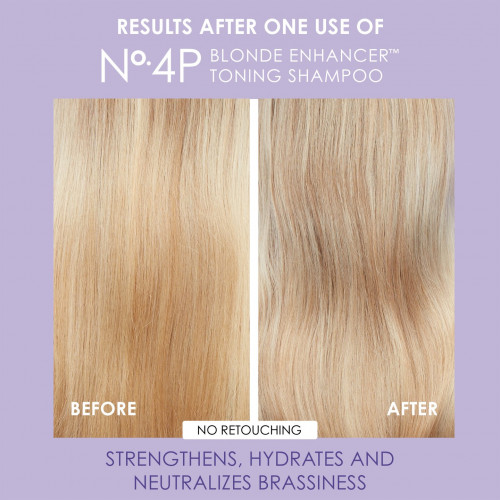 Olaplex No.4P Blonde Enhancer Toning Shampoo Tonējošais šampūns 250ml