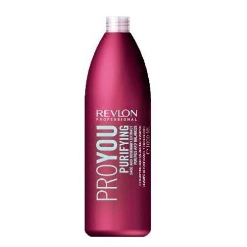 Revlon Professional Pro You Purifying Matu šampūns taukainai galvas ādai ar rozmarīnu 350ml