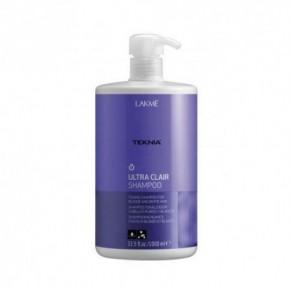 Lakme Teknia Ultra Clair Šampūns gaišiem matiem 1000ml