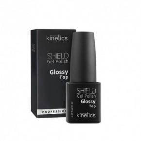 Kinetics Shield Gel Polish Glossy Top Gēla - lakas virsējais slānis 11ml