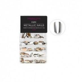 Dashing Diva Professional Metallic nails Mākslīgie nagi 12 dažādās formās 120 gab.