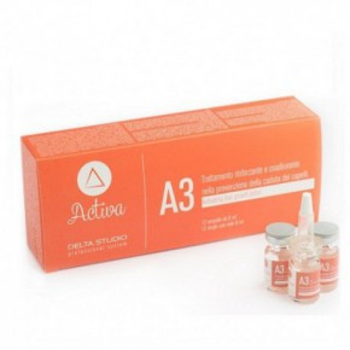 Regene ACTIVA A3 Intensīvās ietekmes preparāts pret matu izkrišanu 12 ampulas 12x6ml