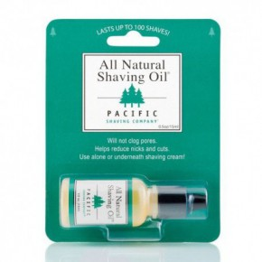 Pacific All Natural Shaving Oil Skūšanās eļļa 15ml