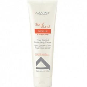 AlfaParf Milano Semi Di Lino Discipline Smoothing Cream Krēms cirtainiem matiem 150ml