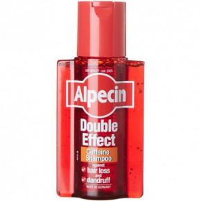 Alpecin Double-Effect Caffeine Shampoo Šampūns ar kofeīnu pret blaugzām un matu izkrišanu 200ml