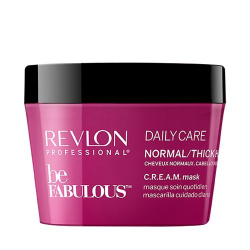 Revlon Professional Be Fabulous C.R.E.A.M. Daily Care Maska normāliem matiem 200ml