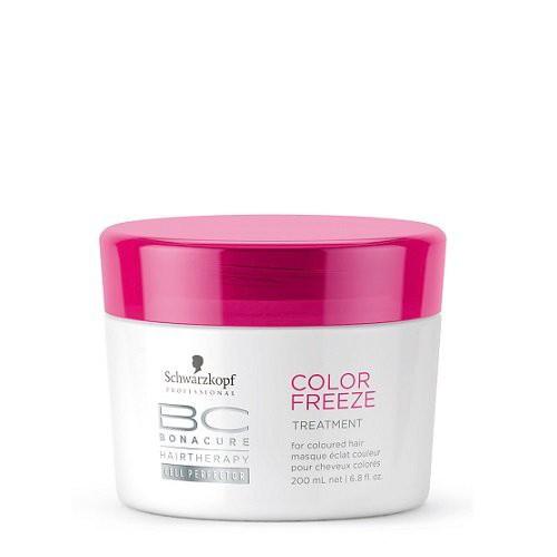 Schwarzkopf BC Color Freeze Maska krāsotiem matiem 200ml